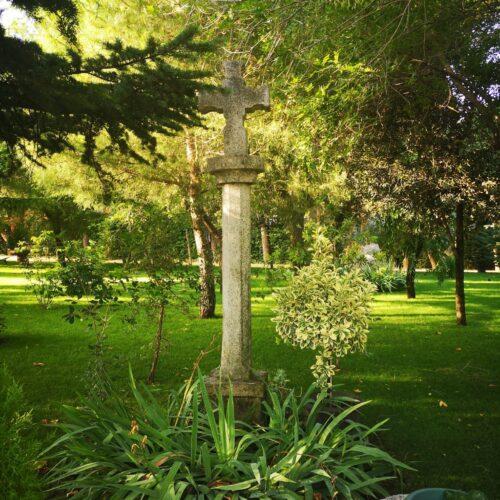 Vista delos jardines dela residencia de Colmenar viejo